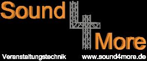 Sound4More – Veranstaltungstechnik